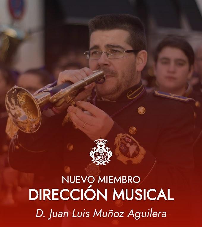 D. JUAN LUIS MUÑOZ AGUILERA NUEVO MIEMBRO DE LA DIRECCIÓN MUSICAL DE NUESTRA FORMACIÓN