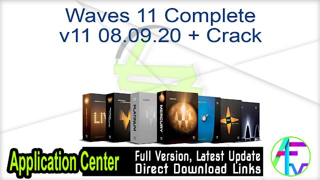 Waves 11 Complete v11 08.09.20 + Crack