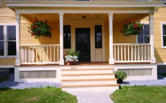 Contoh bentuk teras rumah minimalis berundak-undak