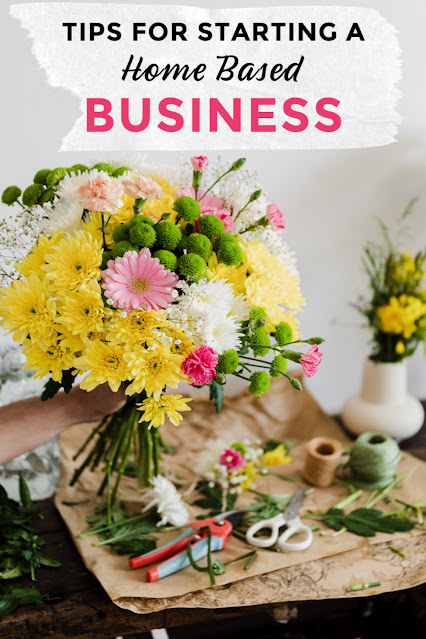 Tips for starting a home based business
