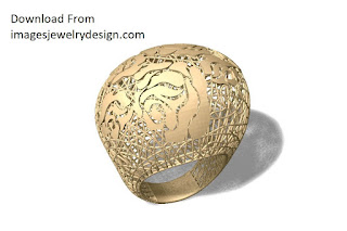Ring rhino 6 gold jewellery design