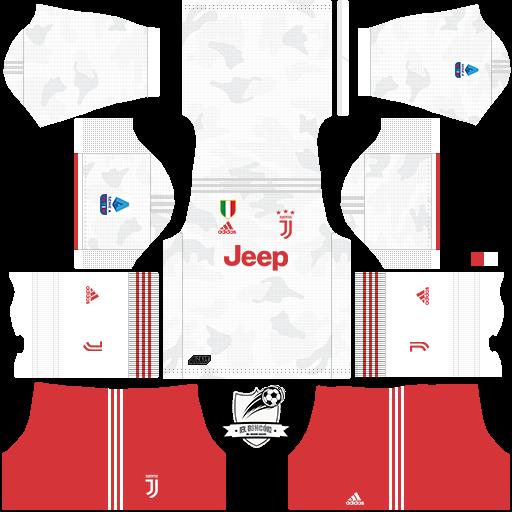 el rincón del dream league: uniformes de juventus 2019/20