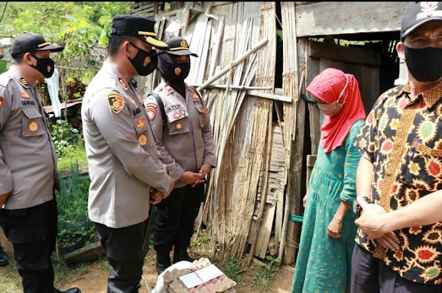 Kapolres Aceh Tengah Akan Bangun Rumah Layak Huni, Yang Di Miliki Oleh Maryati