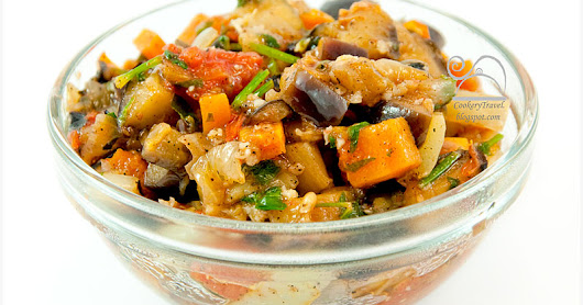 Eggplant and Vegetables Ragout