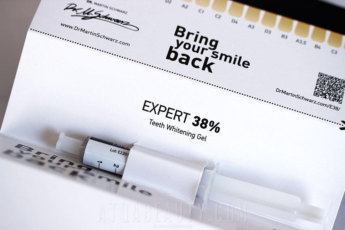 Preparat wybielający do zębów Expert 38 Dr. Martin Schwarz