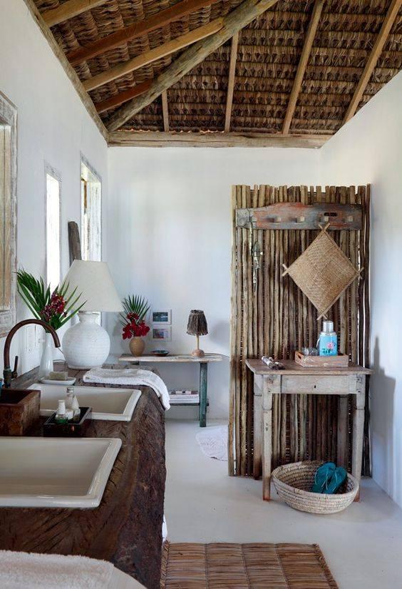 Bricolage e decora o sugest es para decora o r stica - Pared rustica interior ...