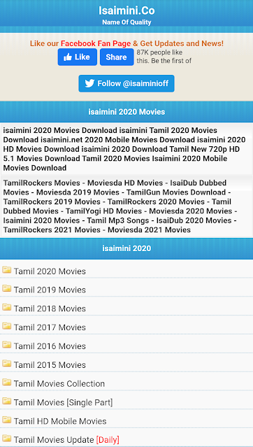 Isaimini - Tamilrockers Isaimini Download Tamil Movies, Tamil 2020 Dub Movie, Tamil 2021 Hindi Movie From Illigal Website
