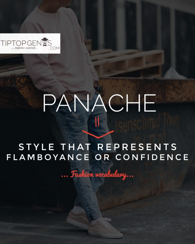 Meaning of panache