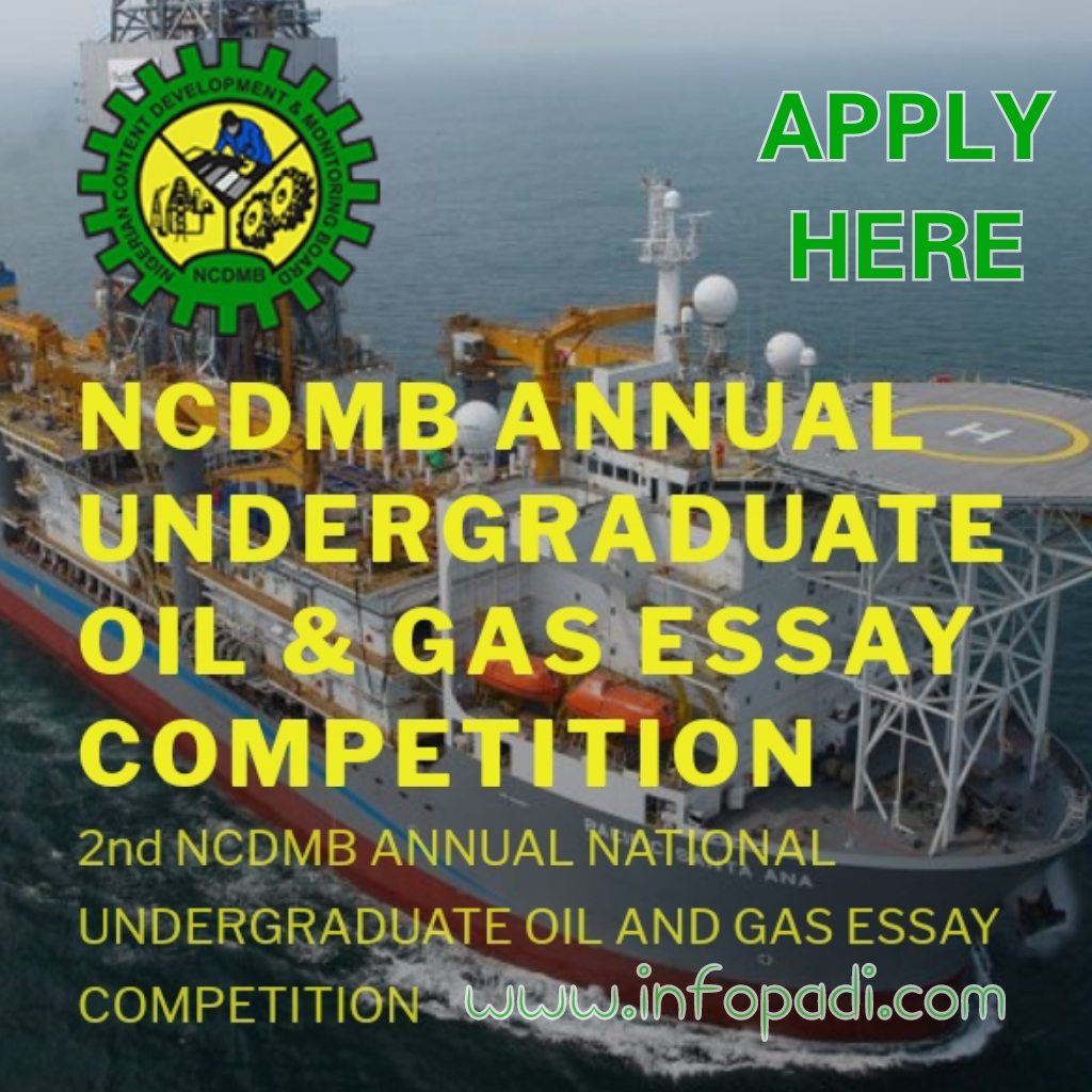 NCDMB Annual Oil & Gas Essay Competition