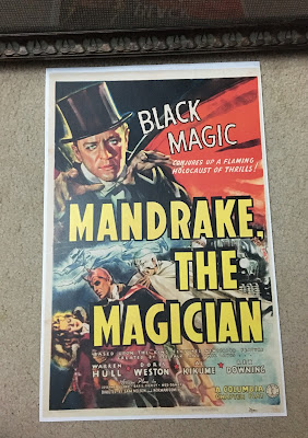 Mandrake, The Magician 939 Columbia Pictures theatrical serial Poster