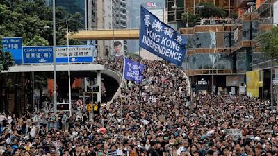 Protes Hong Kong Menghancurkan Ekonomi