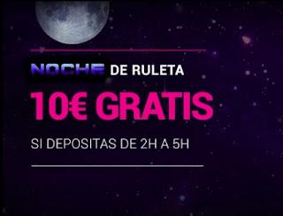 Goldenpark 10 euros gratis noche ruleta 16-2-2021