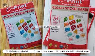 +62 852-2765-5050 | kertas stiker glossy murah