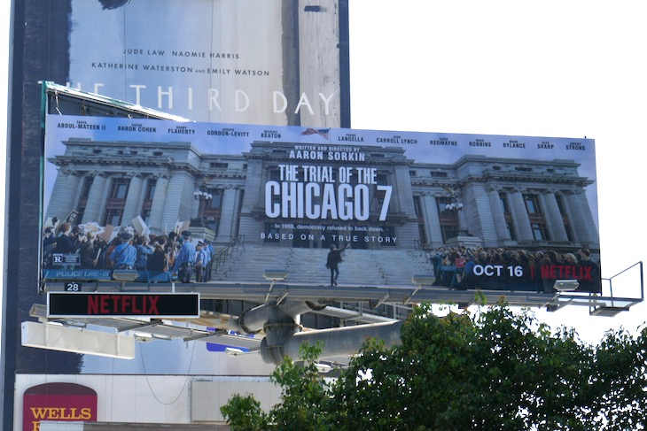 Trial of the Chicago 7 billboard