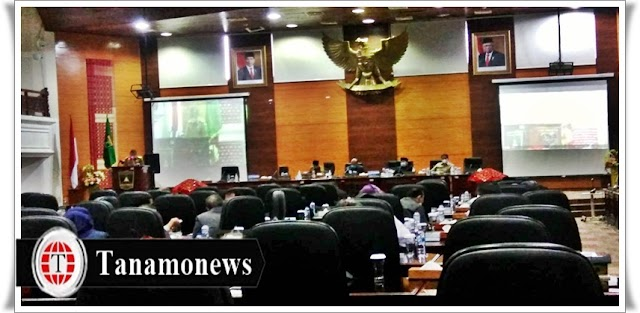 DPRD Sumbar dan Pemprov Sumbar Sepakati KUPA-PPAS Perubahan APBD 2021