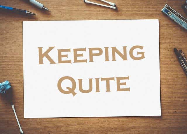 Keeping Quiet Summary Class 12 Poem, Question, Answer