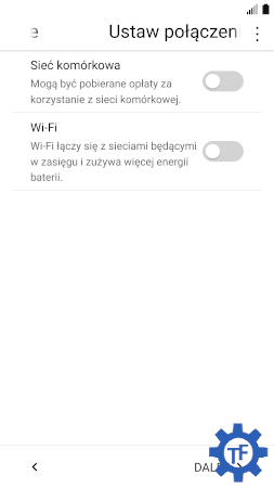 Konfigurowanie nowego użytkownika w LG
