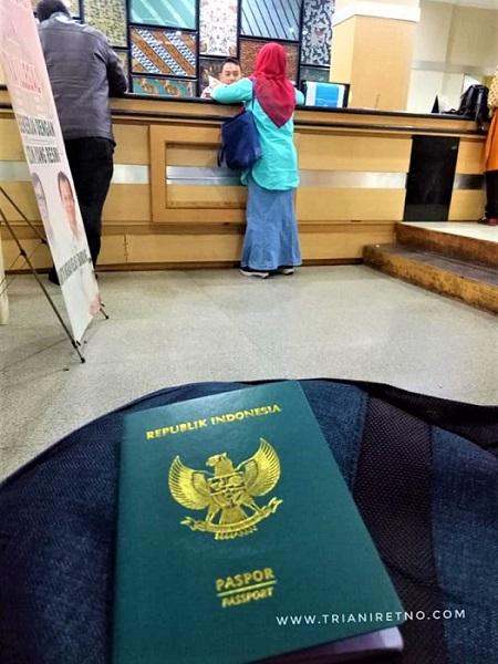 mengurus paspor di bandung