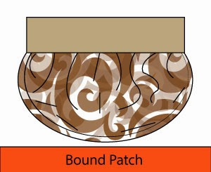 Bound patch