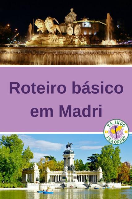 Roteiro básico em Madri