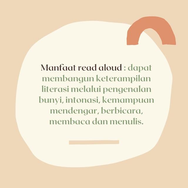 manfaat read aloud