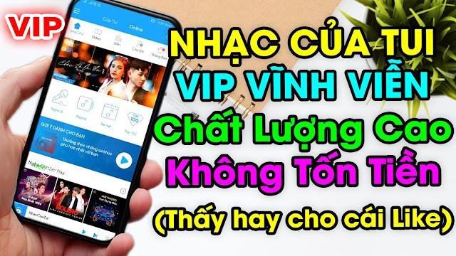 Chia sẻ Nhạc Của Tui 6.3.0 VIP Vĩnh Viễn nghe nhạc chất lượng cao miễn phí
