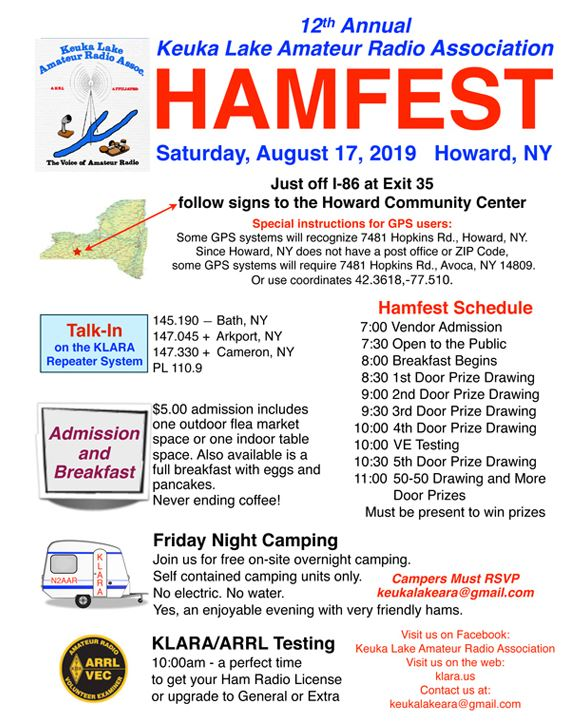 Upstate NY HAM Radio News & Information