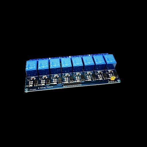 Mạch 8 Relay Opto Cách Ly 5VDC