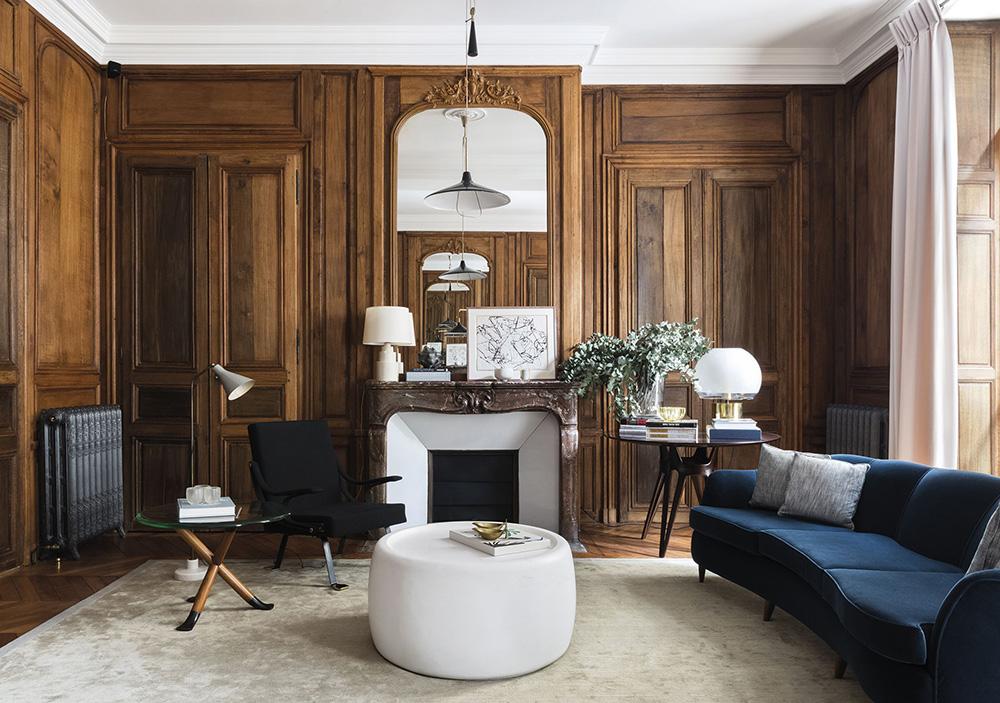 Paris apartment designed by studio Laplace