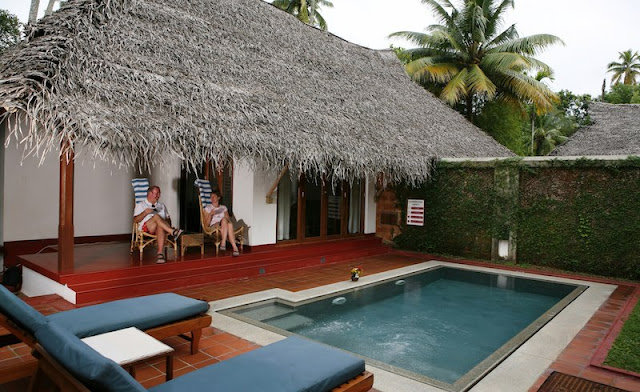 Marari Beach- Traditional Kerala Cottage with Private Pool