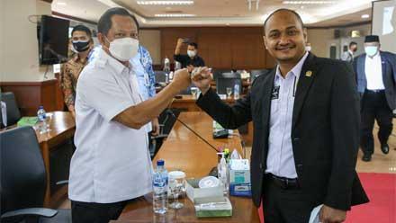 Tito Karnavian bersama Fachrul Razi