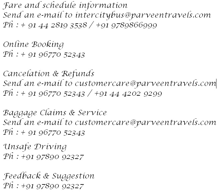 Kpn Travels Hyderabad Contact Number
