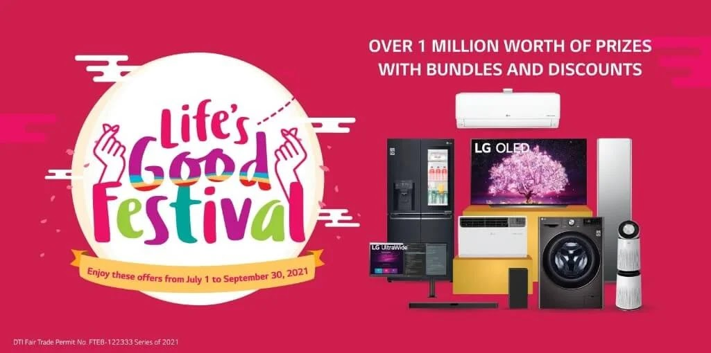 LG Will Give Away Over 1 Million Raffle Prizes In Life's Good Festival