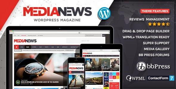 MediaNews WordPress Theme