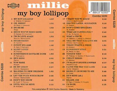 Millie Small - My Boy Lollipop (1964)