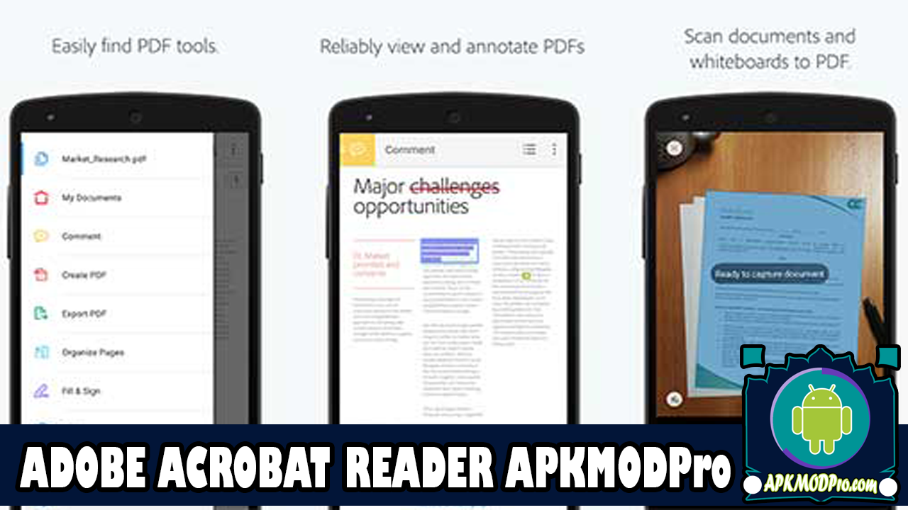 Download Adobe Acrobat Reader MOD APK 19.8.1 ( for Android )