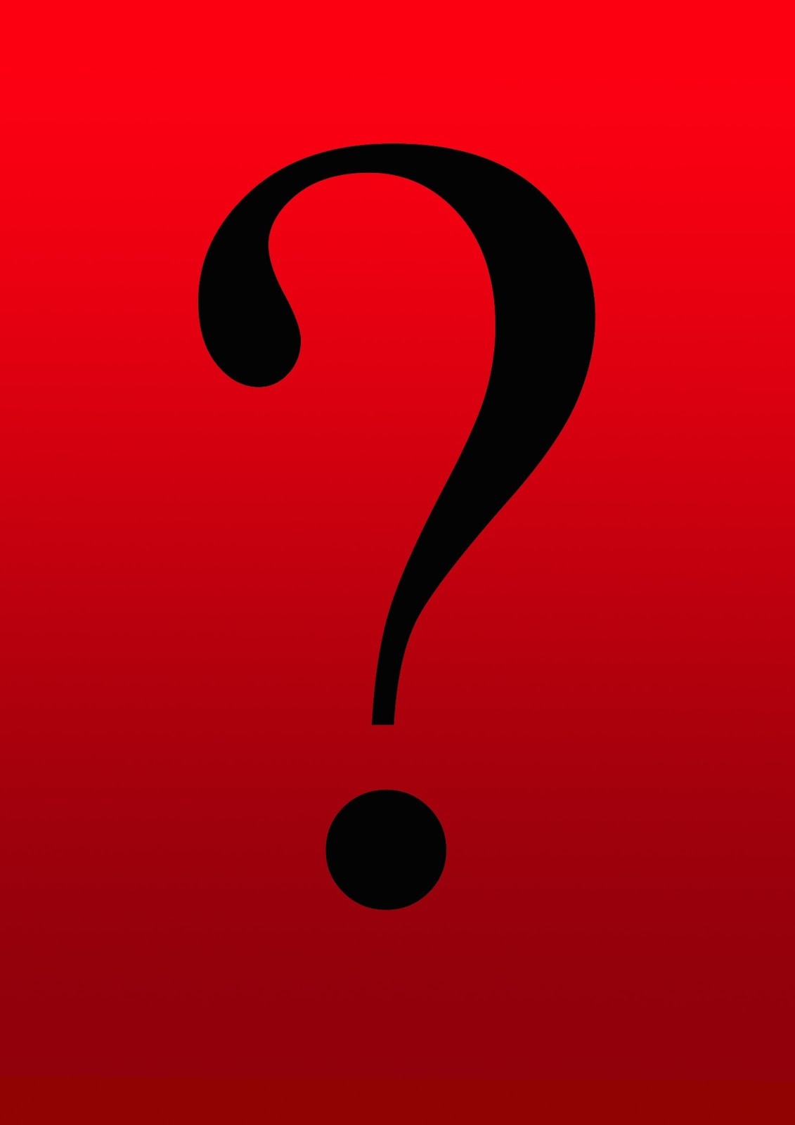 The gallery for --> Question Marks Background Red