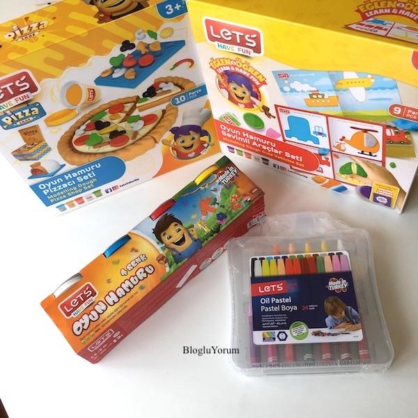 23 nisan blogger anne çocuk şenliği lets oyun hamurları