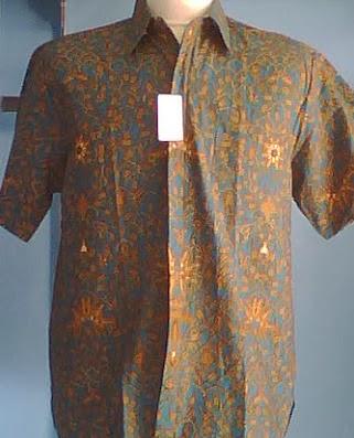 Download Image Ini Adalah Baju Batik Danar Hadi Dengan Model Kemeja PC