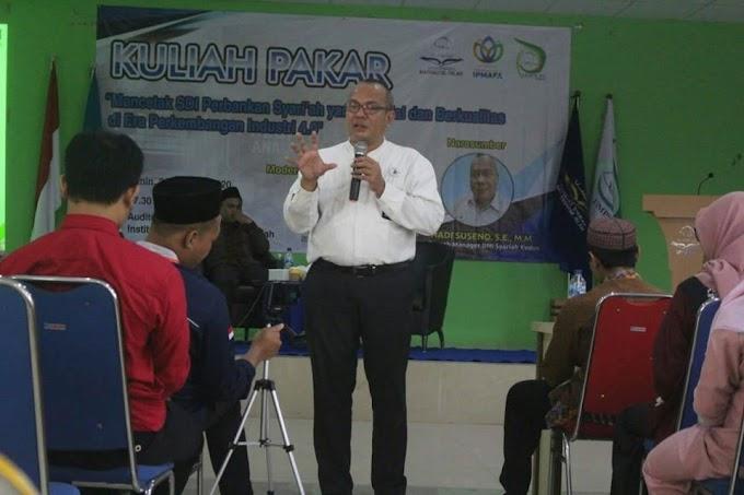 Sadar Akan Tantangan Industri 4.0; Prodi Perbankan Syariah IPMAFA Gelar Kuliah Pakar