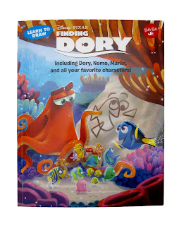 finding dory learn to draw book