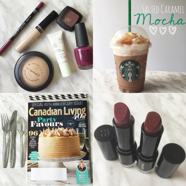 bbloggers, bbloggersca, arbonne, canada, mac, opi, starbucks, canadian living, instagram