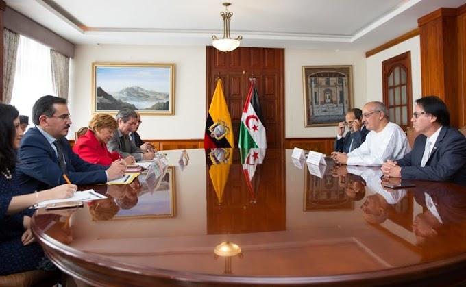 Ecuador apoya los principios de descolonización por los que se rige la autodeterminación de estados como el Sáhara Occidental