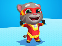Keren !!  Game Talking Tom Hero Dash Mod Apk Full Coins Terbaru