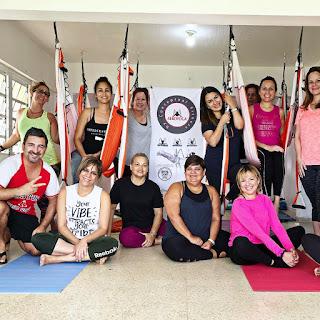 aeroyoga, yoga aereo, yoga aerea, aerial yoga, puerto rico, usa, air yoga, talleres, formacion, workshop, salud, tendencias, wellness, health, saludable, rafael martinez