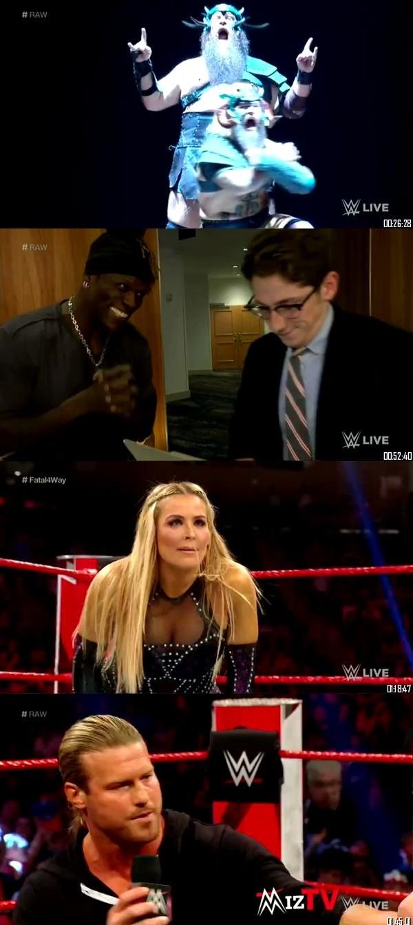 Screen Shoot of WWE Monday Night Raw 15 July 2019 HDTV 480p 500MB