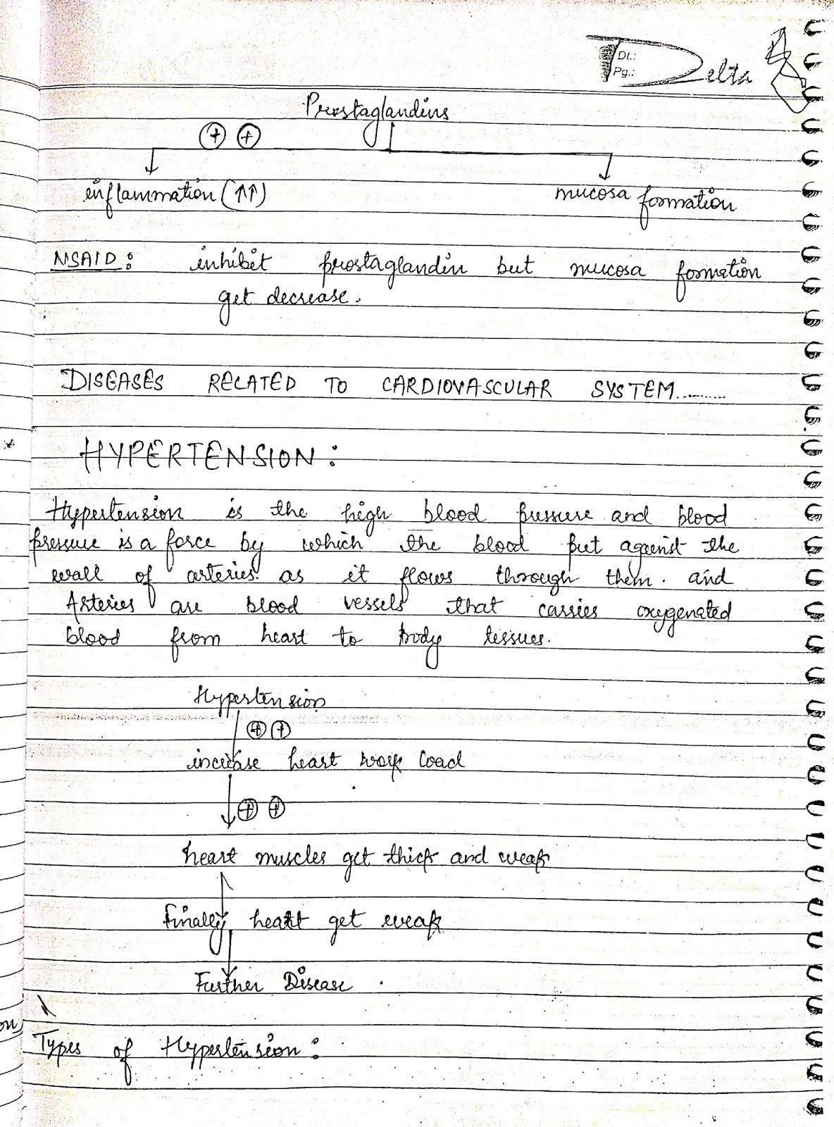 pathophysiology - hypertension