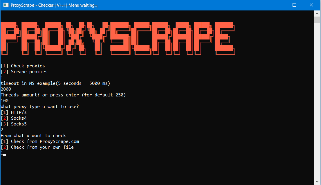 AliInfo cf: Proxyscrape v1 1 For Cracking High Socks4,Socks5,HTTP/S