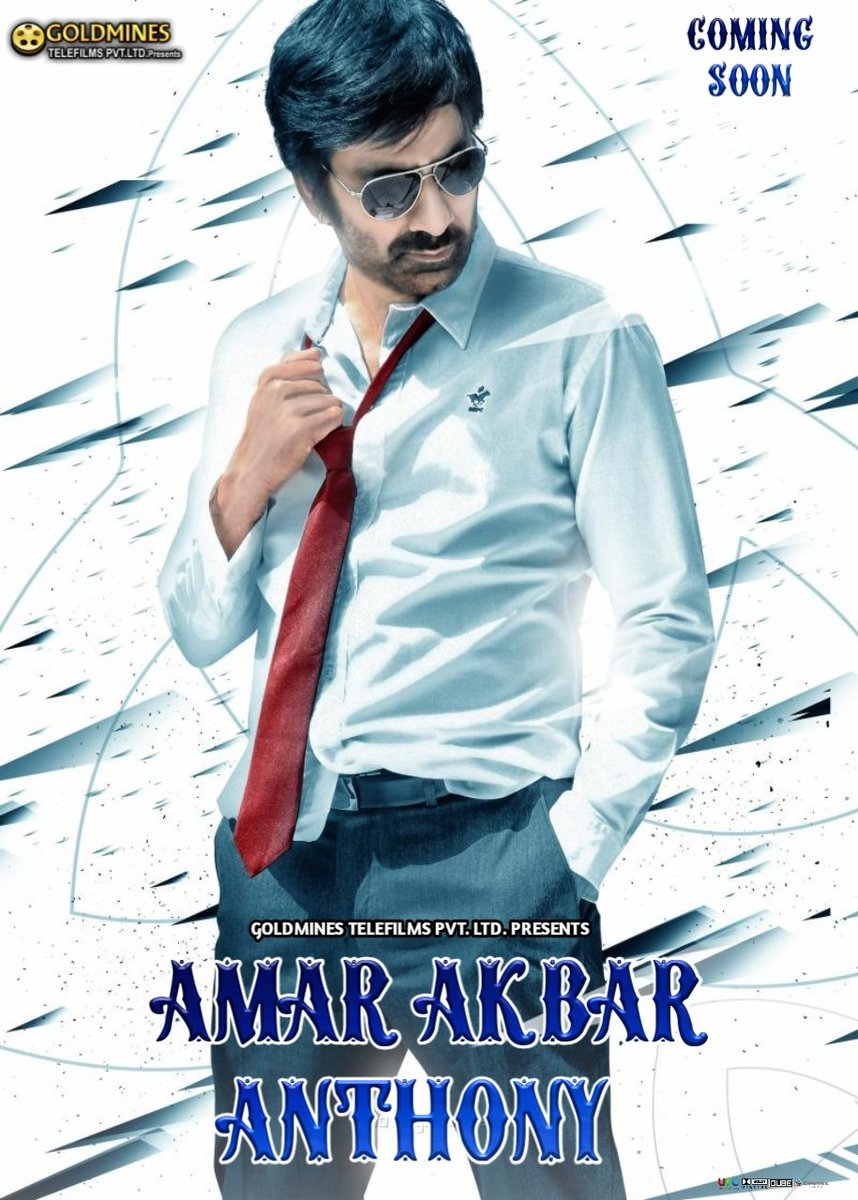 Amar Akbhar Anthoni (Amar Akbar Anthony) 2019 Hindi Dubbed 720p HDRip x264 800MB Download