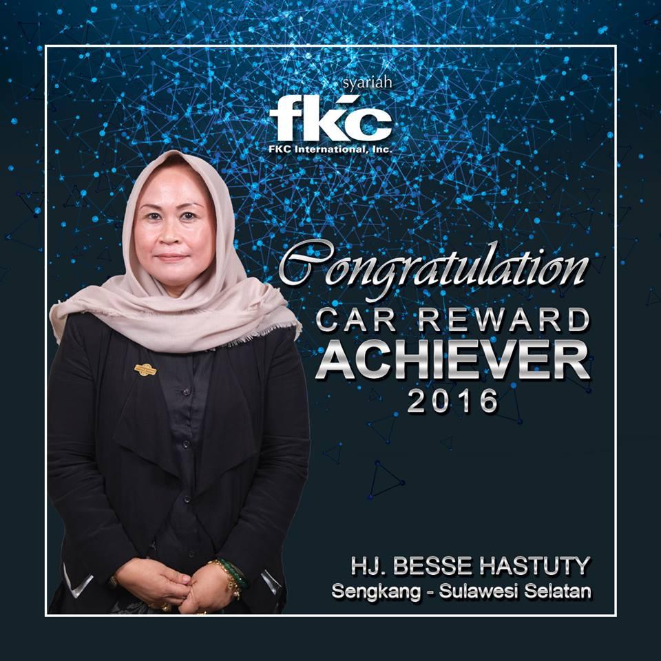 Bisnis Fkc Syariah - Reward HJ. Besse Hastuty